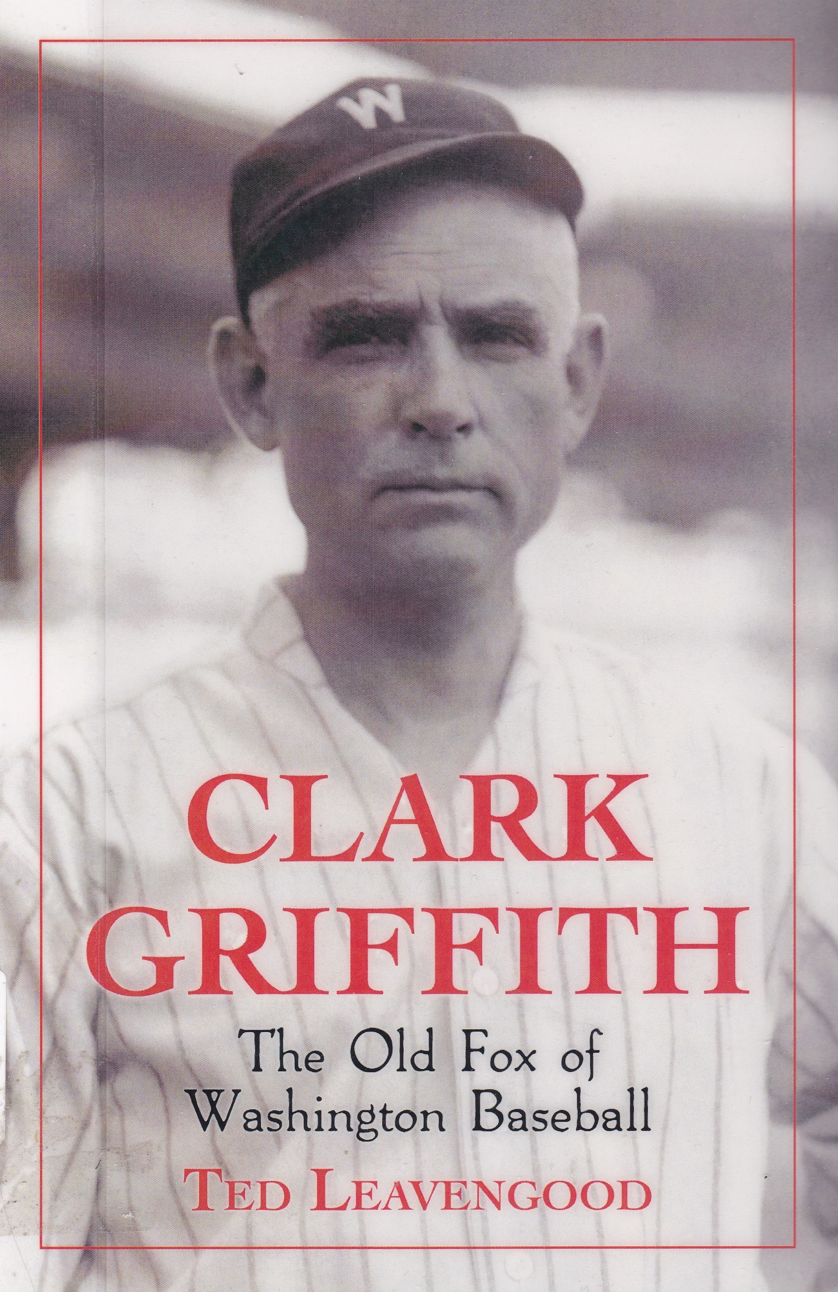 Clark Griffith cover
