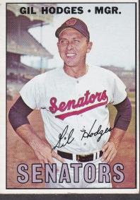 Hodges '67 card