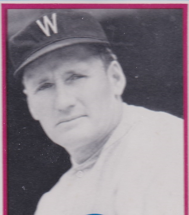 walter johnson card