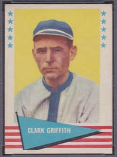 1961 Fleer Clark Griffith